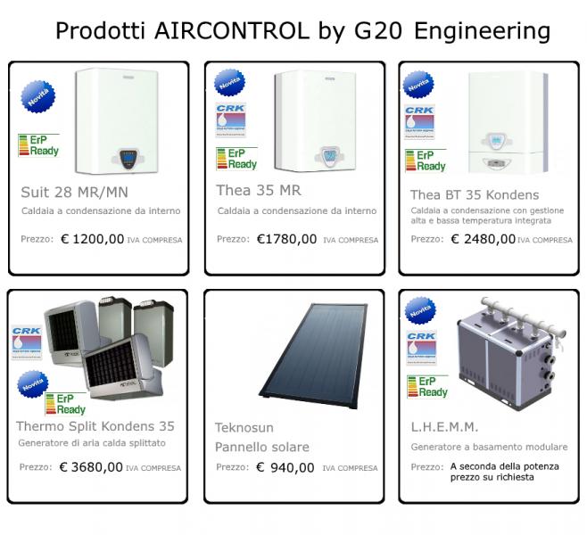Prodotti a condensazione - prezzi in promozione per ordini web